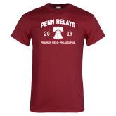 Cardinal T Shirt-Penn Relays w/ Liberty Bell