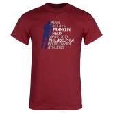 Cardinal T Shirt-Lineed Runner