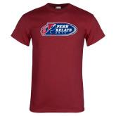 Cardinal T Shirt-Penn Relays 2018 Logo