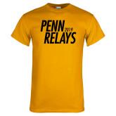 Gold T Shirt-Penn Relays Jamaica 2017