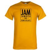 Gold T Shirt-Jam Penn Relays In Box