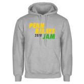 Grey Fleece Hoodie-Penn Relays Jam 2018