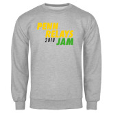 Grey Fleece Crew-Penn Relays Jam 2018