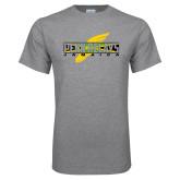 Grey T Shirt-Penn Relays Jamaica w Shoe
