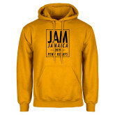 Gold Fleece Hoodie-Jam Penn Relays In Box
