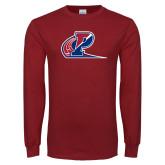 Cardinal Long Sleeve T Shirt-Penn Relays