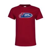 Youth Cardinal T Shirt-Penn Relays 2018 Logo