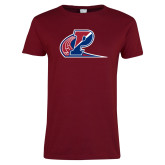 Ladies Cardinal T Shirt-Penn Relays