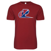 Next Level SoftStyle Cardinal T Shirt-Penn Relays