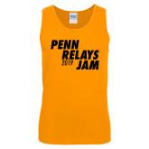 Gold Tank Top-Penn Relays Jam 2018