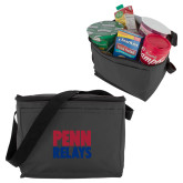 Six Pack Grey Cooler-Penn Relays Stacked