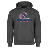 Charcoal Fleece Hoodie-Penn Relays Philadelphia Scripted
