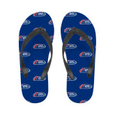 Ladies Full Color Flip Flops-Penn Relays 2018 Logo