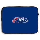 15 inch Neoprene Laptop Sleeve-Penn Relays 2018 Logo