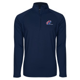 Sport Wick Stretch Navy 1/2 Zip Pullover-Penn Relays