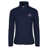 Columbia Ladies Full Zip Navy Fleece Jacket-Penn Relays