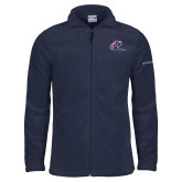 Columbia Full Zip Navy Fleece Jacket-Penn Relays