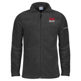 Columbia Full Zip Charcoal Fleece Jacket-Penn Relays Stacked