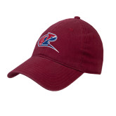 Cardinal Twill Unstructured Low Profile Hat-Penn Relays