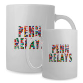 Full Color White Mug 15oz-World Flags Penn Relays
