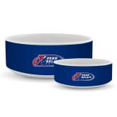 Ceramic Dog Bowl-Penn Relays 2018 Logo