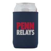 Collapsible Navy Can Holder-Penn Relays Stacked