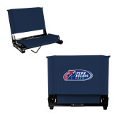 Stadium Chair Navy-Penn Relays 2018 Logo