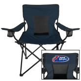 Deluxe Navy Captains Chair-Penn Relays 2018 Logo