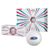 Callaway Supersoft Golf Balls 12/pkg-Penn Relays 2018 Logo