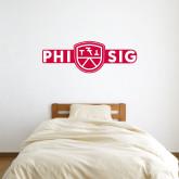 1.5 ft x 4 ft Fan WallSkinz-Phi Sig Wordmark