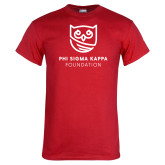 Red T Shirt-Foundation Mark