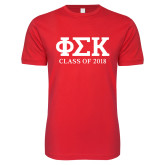 Next Level SoftStyle Red T Shirt-Class of Design