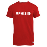 Russell Red Essential T Shirt-PHISIG