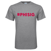 Grey T Shirt-PHISIG