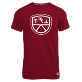 Russell Cardinal Essential T Shirt-Primary Mark