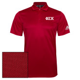 Adidas Climalite Red Grind Polo-Greek Letters