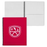 College Spiral Notebook w/Black Coil-Primary Mark