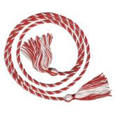 Red/White Graduation Honor Cord-Phi Sigma Kappa