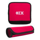 Neoprene Red Luggage Gripper-Greek Letters