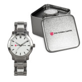 Mens Stainless Steel Fashion Watch-Phi Sigma Kappa