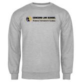 Grey Fleece Crew-Concord Law School
