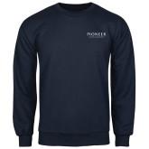 Navy Fleece Crew-Pioneer Water Management