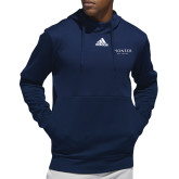 Adidas Navy Team Issue Hoodie-Pioneer Well Services