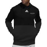 Adidas Black Team Issue Hoodie-Pioneer Well Services