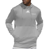 Adidas Grey Team Issue Hoodie-Pioneer Well Services