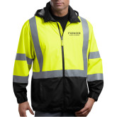 Safety Yellow ANSI 107 Class 3 Safety Windbreaker-Pioneer Natural Resources