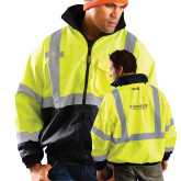 Safety Yellow ANSI 107 Class 3 Bomber Jacket-Pioneer Natural Resources