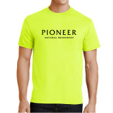 Safety Green T Shirt-Pioneer Natural Resources