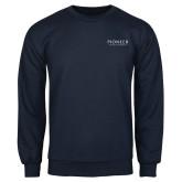 Navy Fleece Crew-Pioneer Natural Resources