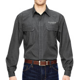 DRI DUCK Black Field Shirt-Pioneer Well Services